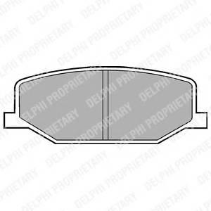 Гальмівні колодки, дискові ABE арт. LP527