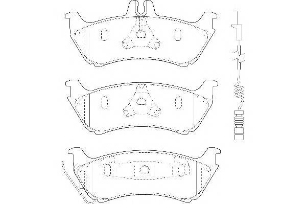Тормозные колодки Тормозные колодки Wagner PAGID арт. WBP23190A