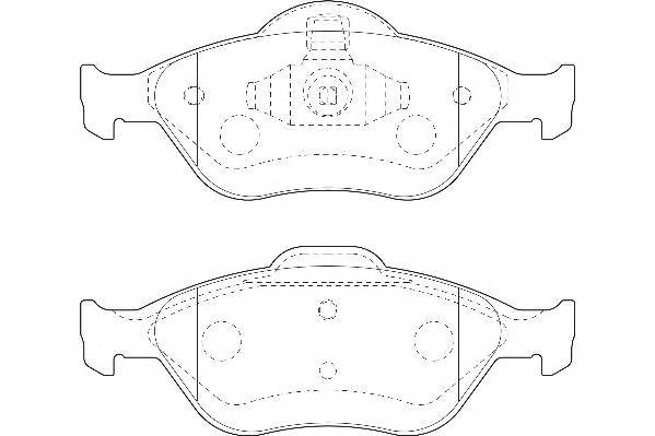 Тормозные колодки Тормозные колодки Wagner PAGID арт. WBP23202A