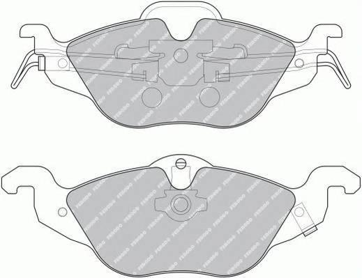 Гальмівні колодки, дискові PAGID арт. FDB1293