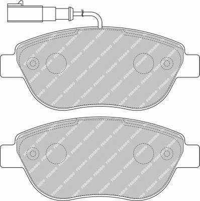 Тормозные колодки Тормозные колодки дисковые ABE арт. FDB1467