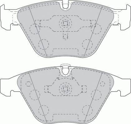 Тормозные колодки Тормозные колодки Ferodo PAGID арт. FDB1628