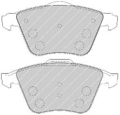 Тормозные колодки Тормозные колодки Ferodo ABE арт. FDB1706
