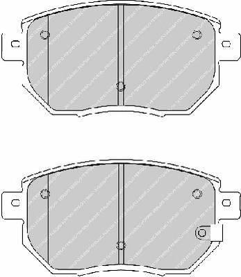Тормозные колодки Тормозные колодки дисковые ABE арт. FDB1786