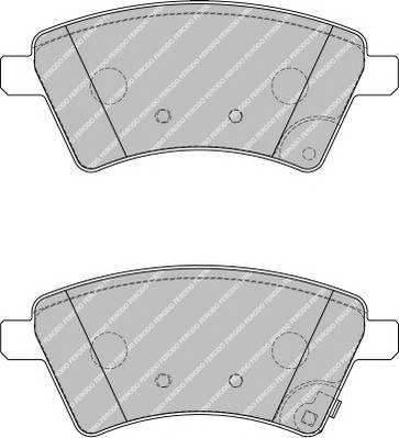 Тормозные колодки Тормозные колодки Ferodo ABE арт. FDB1875