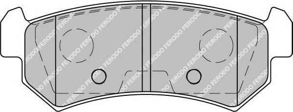 Тормозные колодки Тормозные колодки дисковые PAGID арт. FDB1889