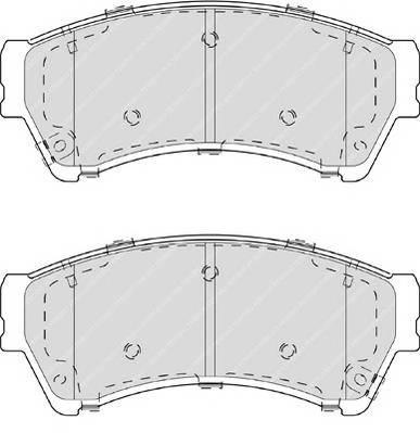 Тормозные колодки Тормозные колодки Ferodo ABE арт. FDB4062