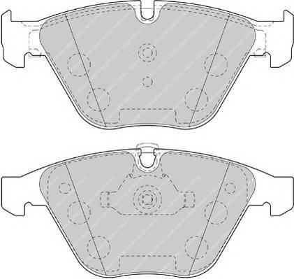 Тормозные колодки Тормозные колодки Ferodo ABE арт. FDB4191