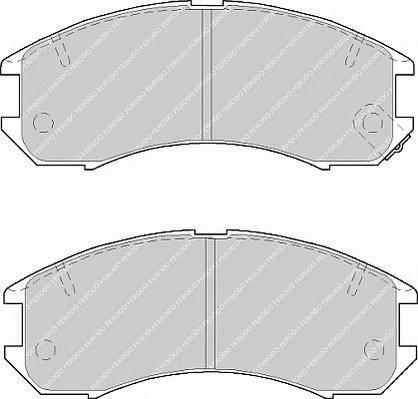 Тормозные колодки Тормозные колодки Ferodo ABE арт. FDB576