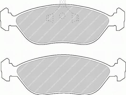 Тормозные колодки Тормозные колодки дисковые PAGID арт. FDB897