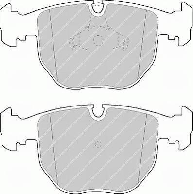 Тормозные колодки Тормозные колодки дисковые ABE арт. FDB997