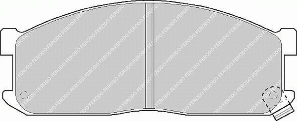 Тормозные колодки Тормозные колодки дисковые PAGID арт. FVR757