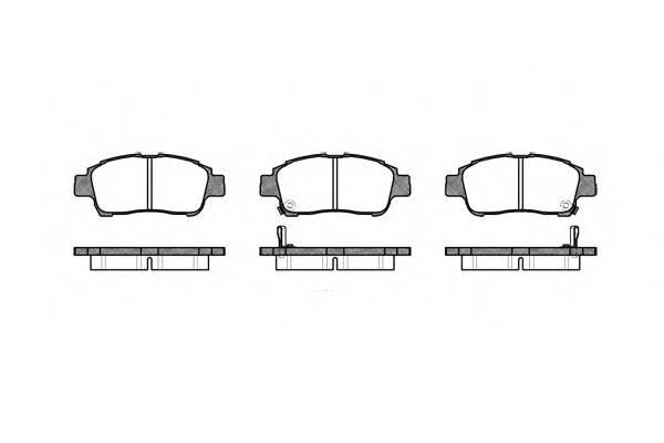 Тормозная система Гальмiвнi колодки, к-кт. PAGID арт. 271202