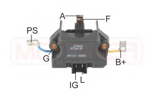 Регулятор генератора (пр-во ERA)                                                                     ERA 215735