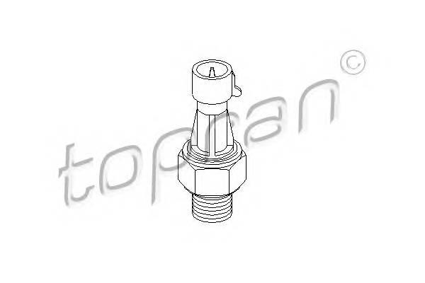 Датчик тиску оливи TOPRAN 206957