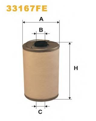Топливные фильтры Топливный фильтр WIXFILTERS арт. 33167FE