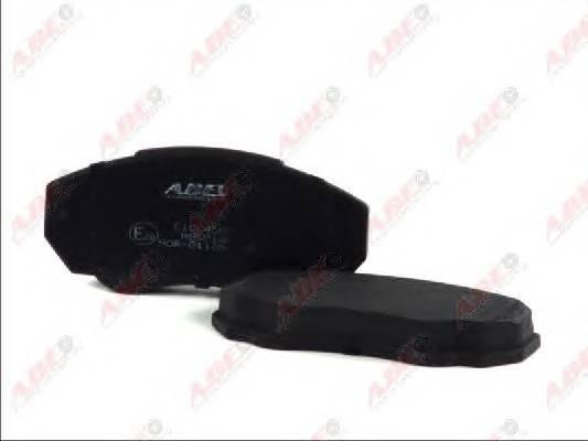 Гальмівні колодки, дискові ABE арт. C1C045ABE