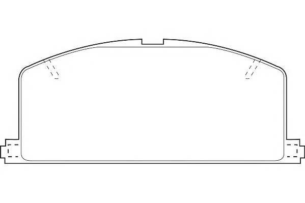 Тормозные колодки Тормозные колодки Wagner PAGID арт. WBP20870A