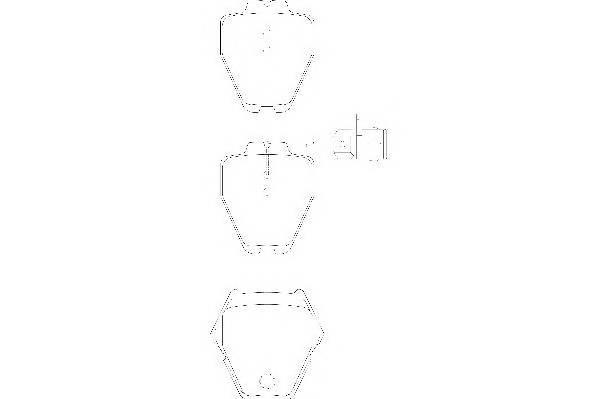 Тормозные колодки Тормозные колодки Wagner PAGID арт. WBP23119A
