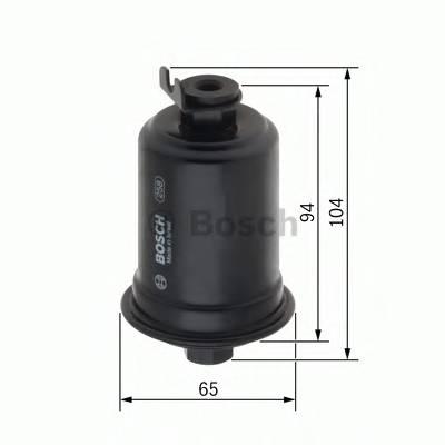 Топливные фильтры Топливный фильтр BOSCH арт. 0450905990