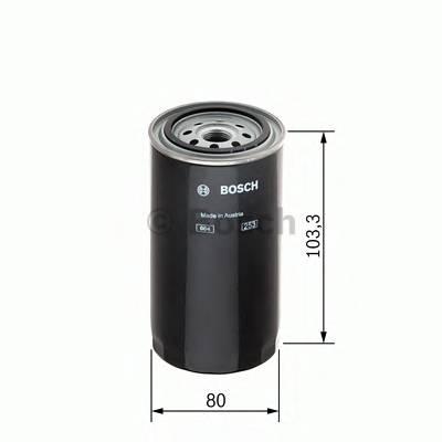 Топливные фильтры Топливный фильтр диз BOSCH арт. 1457434454