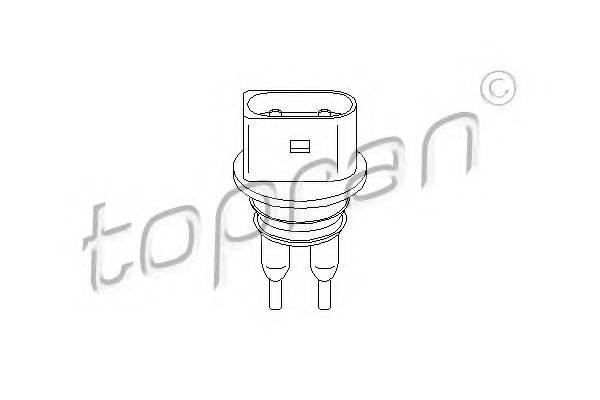 Датчик рiвня рiдини в склоомивачi TOPRAN 109922