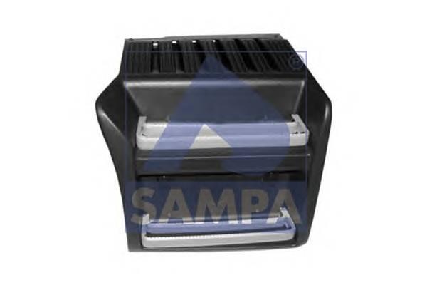 Крышка аккумуляторного отсека (с металл. ступенями) SAMPA 18400093