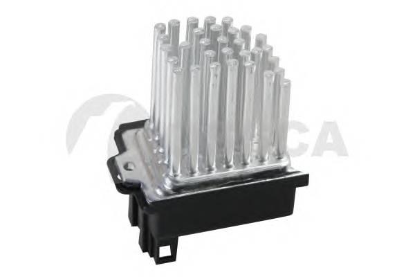 Блок управления вентилятора кондиционера / AUDI A6 98~05 OSSCA 08081