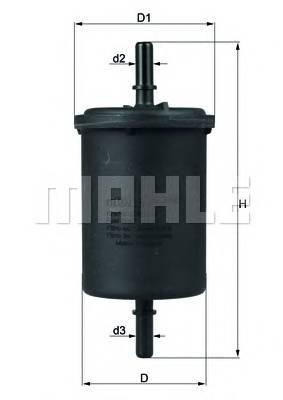 Топливная система Фільтр палива MEYLE арт. KL4161