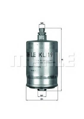Паливний фільтр BOSCH арт. KL19