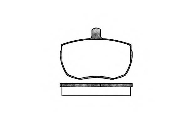 Тормозная система Гальмiвнi колодки, к-кт. PAGID арт. 205600