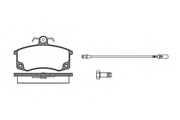 Тормозная система Гальмiвнi колодки, к-кт. PAGID арт. 222102
