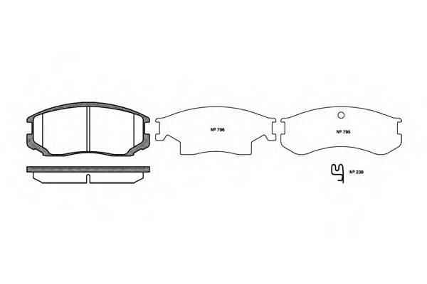 Тормозная система Гальмiвнi колодки, к-кт. PAGID арт. 235722