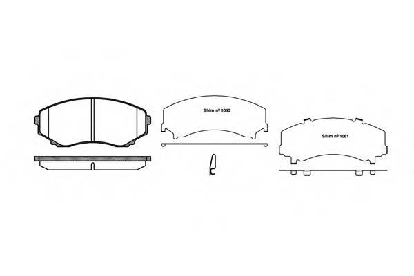 Тормозная система Гальмiвнi колодки, к-кт. PAGID арт. 239722