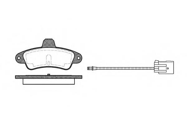 Тормозная система Гальмiвнi колодки, к-кт. PAGID арт. 243302