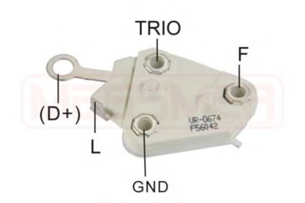 Регулятор генератора (пр-во ERA)                                                                     ERA 215129