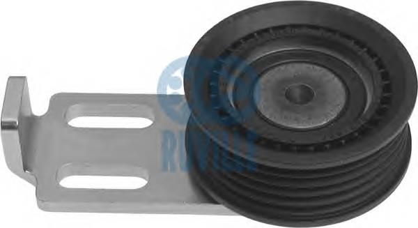 Ролик натяжной ремня генератора Twingo C3G +AC RUVILLE 55584