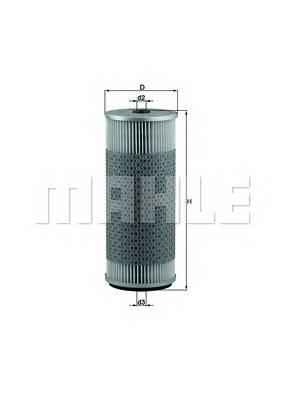Масляные фильтры Фільтр масляний KNECHT арт. OX75D