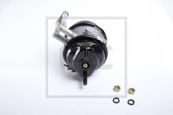 Энергоаккумулятор. двухдиафрагменный пружинный тормозной привод для прицепов T20/24 PEAUTOMOTIVE 04645110A
