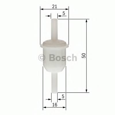 Топливные фильтры Топливный фильтр бенз BOSCH арт. 0450904005