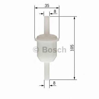 Топливная система Фільтр палива PURFLUX арт. 0450904058