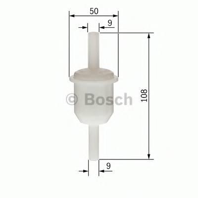 Топливные фильтры Топливный фильтр диз BOSCH арт. 0450904158