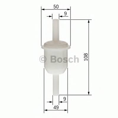 Топливные фильтры Топливный фильтр бенз BOSCH арт. 0450904159