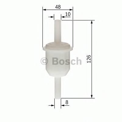 Топливные фильтры Топливный фильтр бенз BOSCH арт. 0450904162