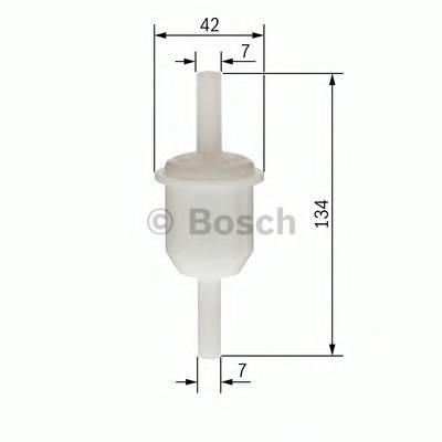 Топливные фильтры Топливный фильтр бенз BOSCH арт. 0450904163
