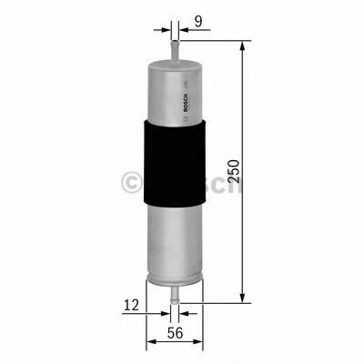 Топливные фильтры Топливный фильтр BOSCH арт. F026402068