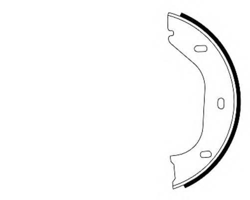 Тормозные колодки Тормозные колодки барабанные PAGID арт. 91020200