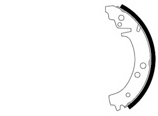 Тормозные колодки Тормозные колодки барабанные PAGID арт. 91029100