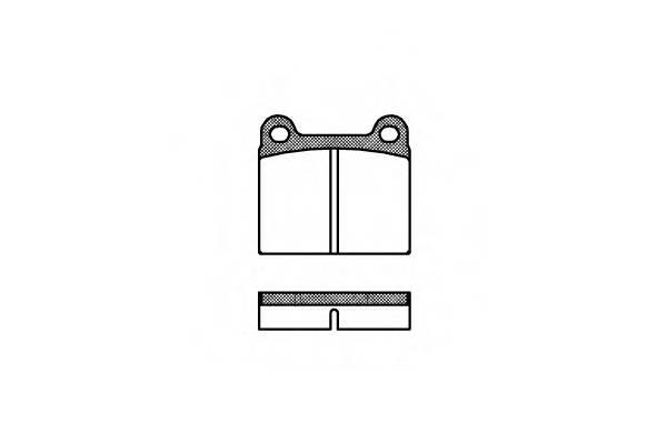 Тормозная система Гальмiвнi колодки, к-кт. PAGID арт. 200600
