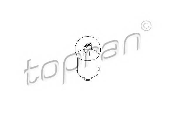 Лампа накалювання TOPRAN 104489